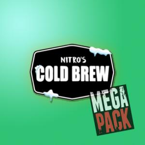 Nitro´s Cold Brew (100ml, Shortfill)10pack - Mega Pack