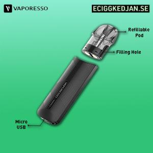 Vaporesso - Osmall Pod 1,2Ohm (2pack)