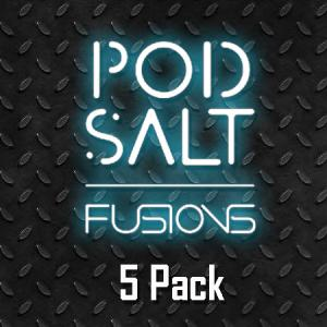 Pod Salt - 10ml - Fusions - 5pack - 20mg