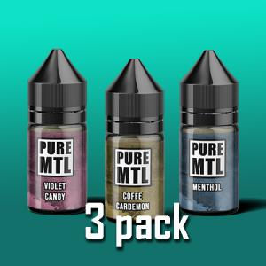 Pure MTL - 3pack
