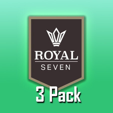 Royal Seven (50ml, Shortfill, 3pack)