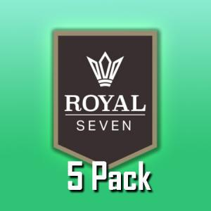Royal Seven (50ml, Shortfill, 5pack)