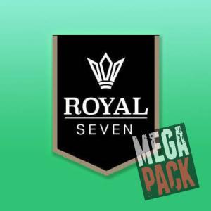 Royal Seven (50ml, Shortfill) 7pack - Mega Pack