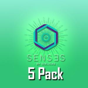 Senses by Six Licks (50ml, Shortfill, 5pack)