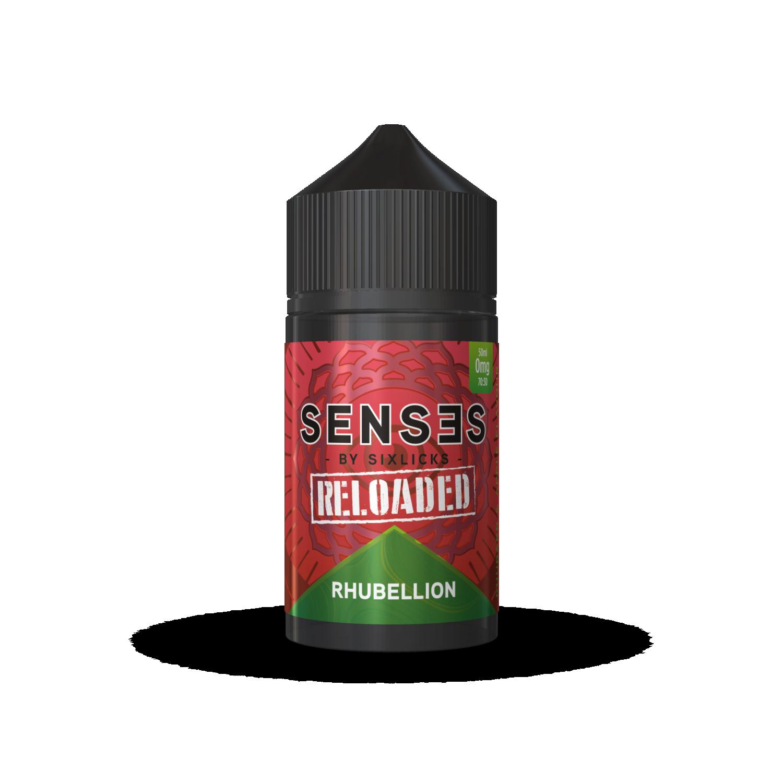 Senses by Six Licks - 50ml - Rhubellion