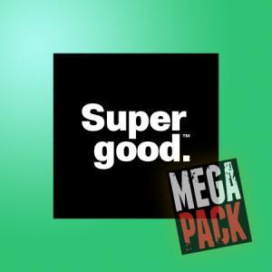 Supergood  (50ml, Shortfill)14pack - Mega Pack