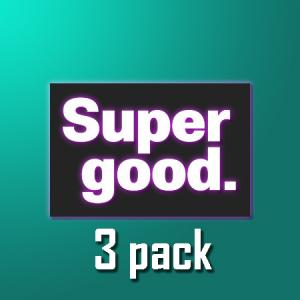 Supergood - 3pack
