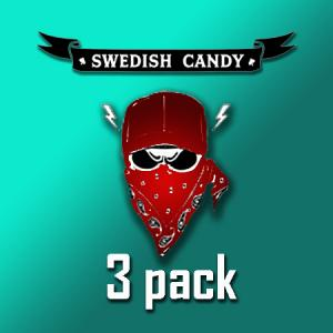 Swedish Candy - 3pack