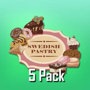Swedish Pastry (50ml, Shortfill, 5pack)