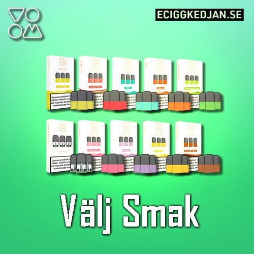 VOOM - 3pack förfylld Pod (20mg E-juice)