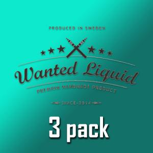 Wanted Liquid - 3pack
