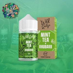 Wild Roots - Mint Tea - Rhubarb (50ml, Shortfill)