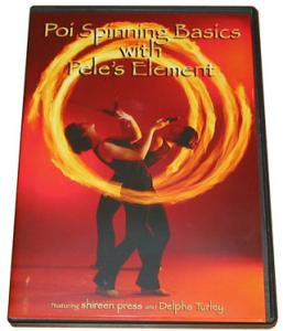 Poi Spinning Basic with Pelés Element - DVD
