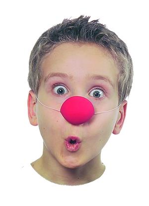 Clownnäsa barn
