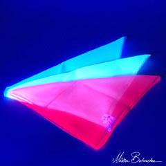 Jongleringsdukar UV, stora