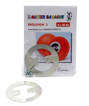 Evolution kit 3 Vikter 2x10 g - Mister Babache