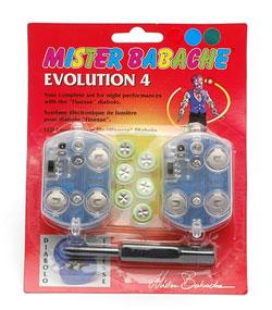Evolution kit 4 Lysdioder - Mister Babache