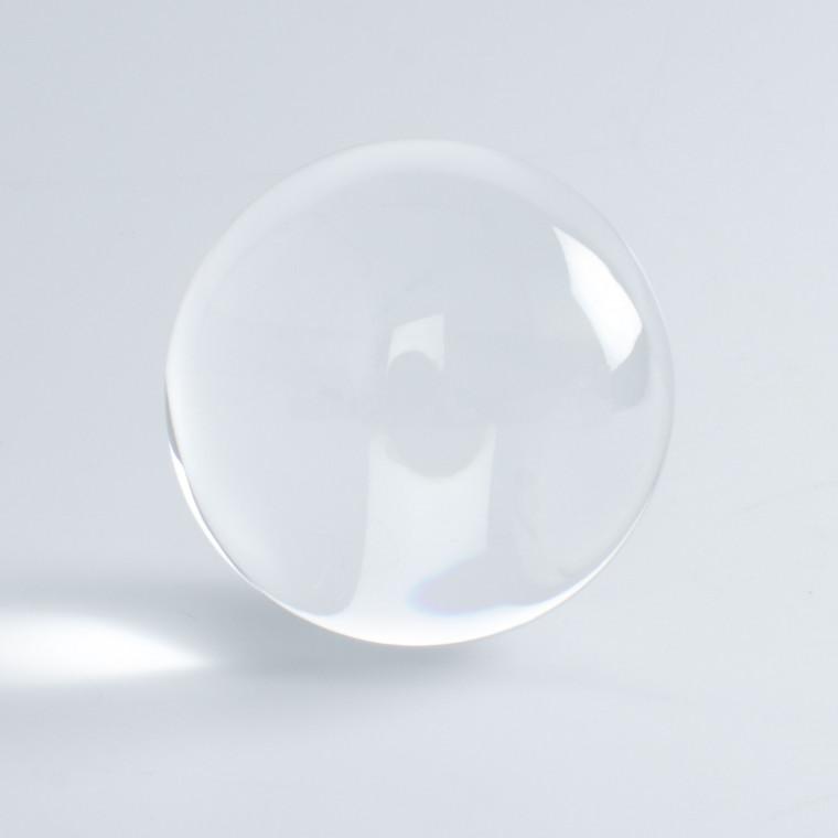 Kontaktjongleringsboll - Akrylboll 70-75-80-100 mm, klar