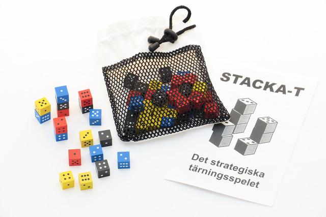 Stacka-T, Tärningsspelet