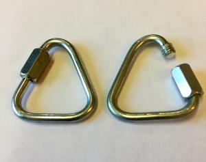 Tillbehör Eld-Poi Quick Link Triangular