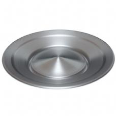 Snurrande tallrik aluminium - Jac Products