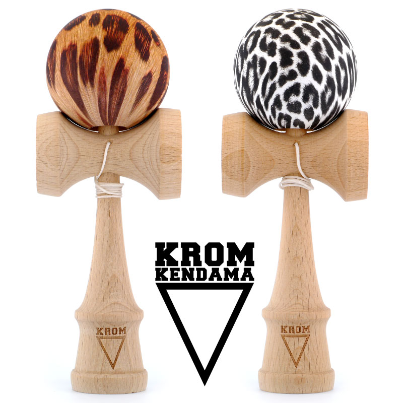 KROM - Leopard & Snow Leopard Kendama