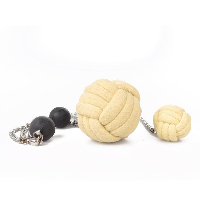 Eld-Poi Monkey Fist - Gora, olika storlekar