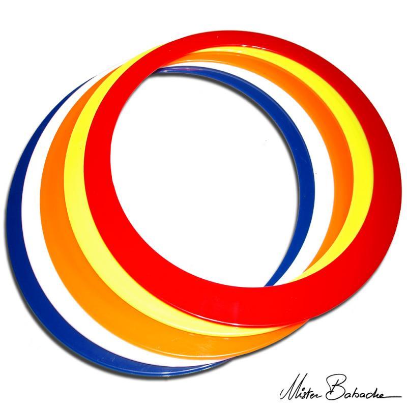 Spinning rings 40 cm - Mister Babache
