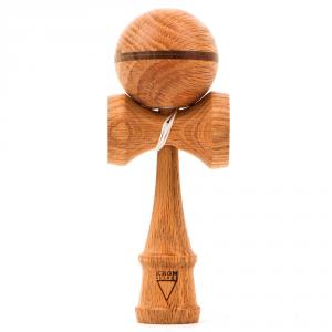 KROM - Deluxe V2  Smoked Red Oak Kendama