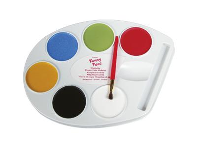 Ansiktsmålning - Fun Faze palett - 6-färger