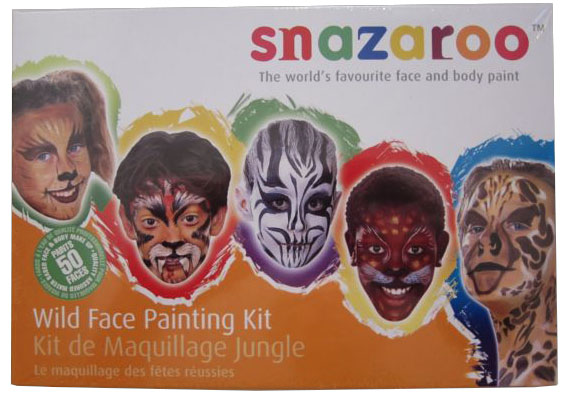 Ansiktsmålning - Wild Faces kit