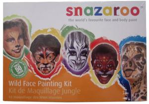 Ansiktsmålning - Wild Faces kit