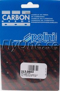 213.0603 CARBON SHEETS FOR REED VALVE 110x100mm