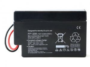 Batteri 12V 0,8Ah Endast 335gram