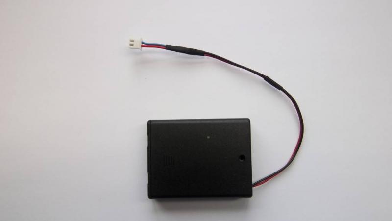 Battery box for PPG meter