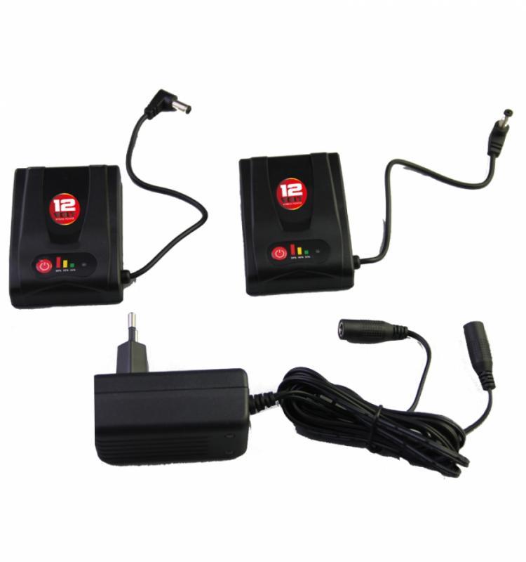 B12V-1200KIT Batteriset till Hybrid Glove