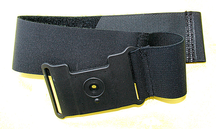 Paragliding leg clamp with velcro strip # No. F0036