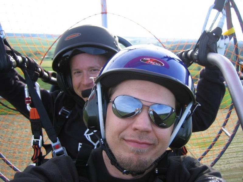 Presentkort Tandemflyg/Prova på lektion med Paramotor