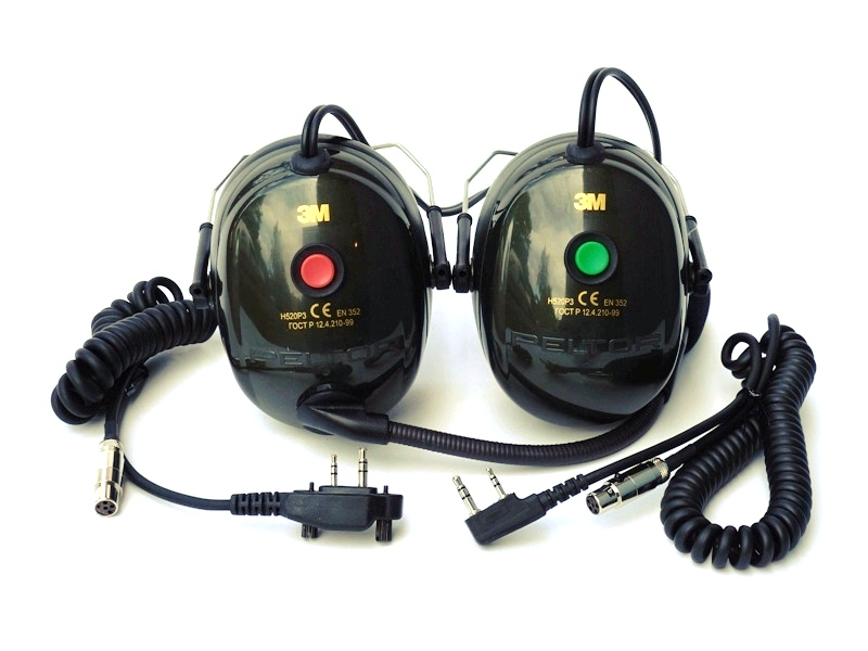 Uppgradering till NAC Radiokåpa för både Flygradio och 2 metersbandet för 4FIGHT TZ hjälm