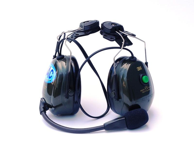 Uppgradering till NAC Radiokåpa med Audio Input - RCA  för 4FIGHT TZ hjälm