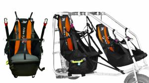 Trike Passenger Harness