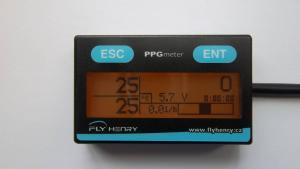 PPG meter including CHT sensor