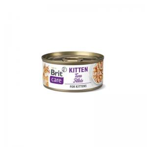 Brit Care Cat Cans for Kitten with Tuna Fillets 70g
