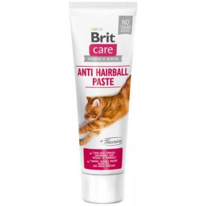Brit Care Cat Paste Anti Hairball with Taurine 100g
