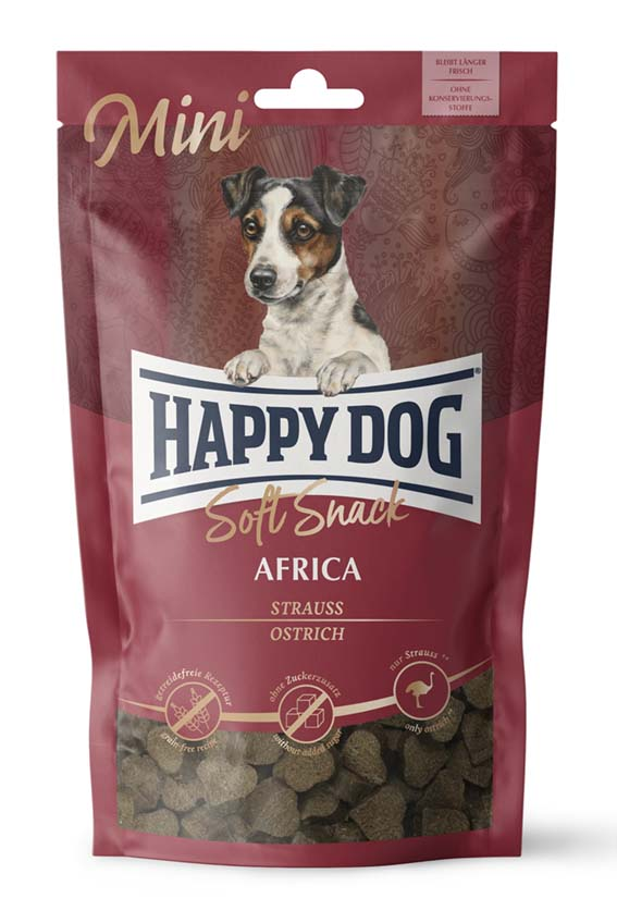 Happy Dog Mini Soft Snacks Africa 100g