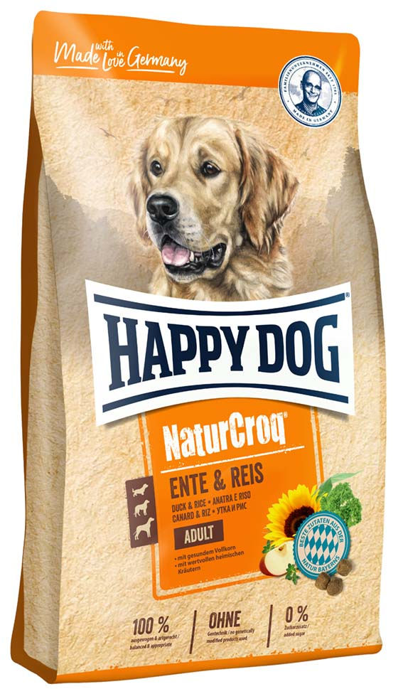 Happy Dog NaturCroq Anka&Ris 12kg