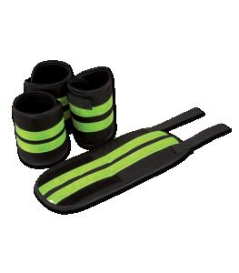 Waldhausen Benreflexer 4-pack   Neongul   One size  