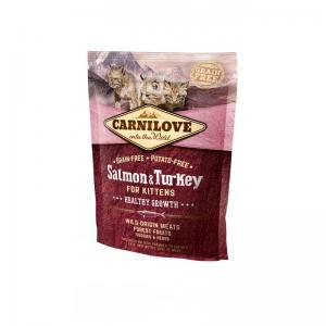 Carnilove CAT Salmon & Turkey - for Kittens 6kg