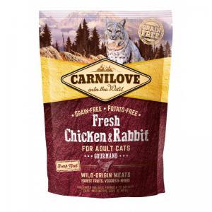 Carnilove CAT Fresh Chicken & Rabbit - Gourmand 2kg