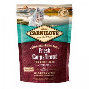 Carnilove CAT Fresh Carp & Trout - Sterilised 2kg